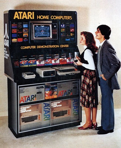 And while I am at it: An Atari Home Computer Store Setup |